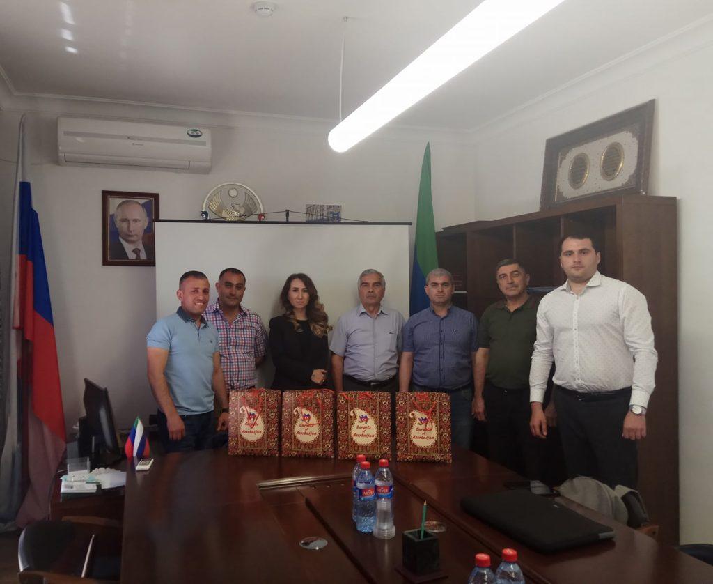 Представители турагентств Азербайджана побывали в Дербенте