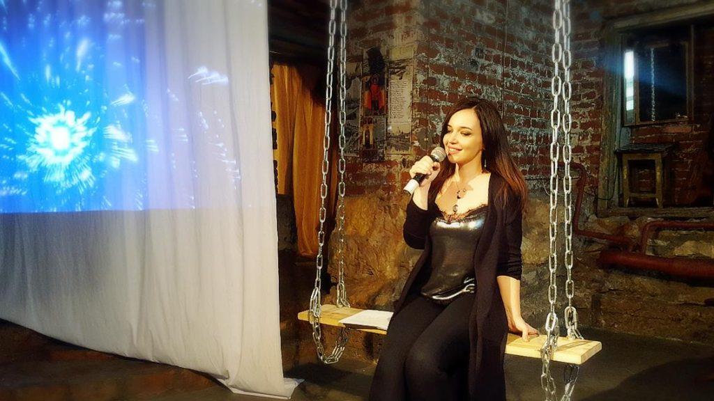 В Москве состоялось визуально-музыкальное представление азербайджанской поэтессы Ираны Гасымовой