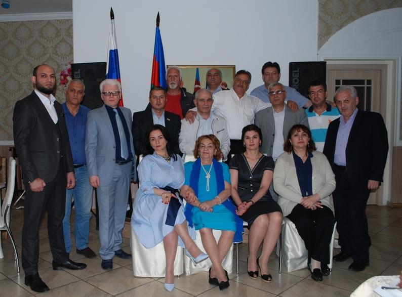 Московской организации азербайджанцев – 1 год!