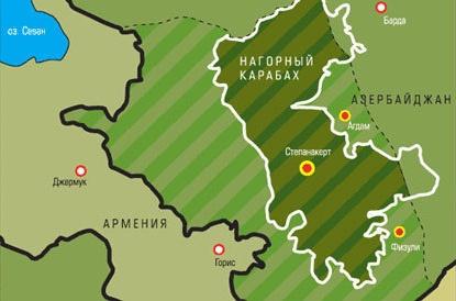 95 лет назад была создана автономная область Нагорного Карабаха