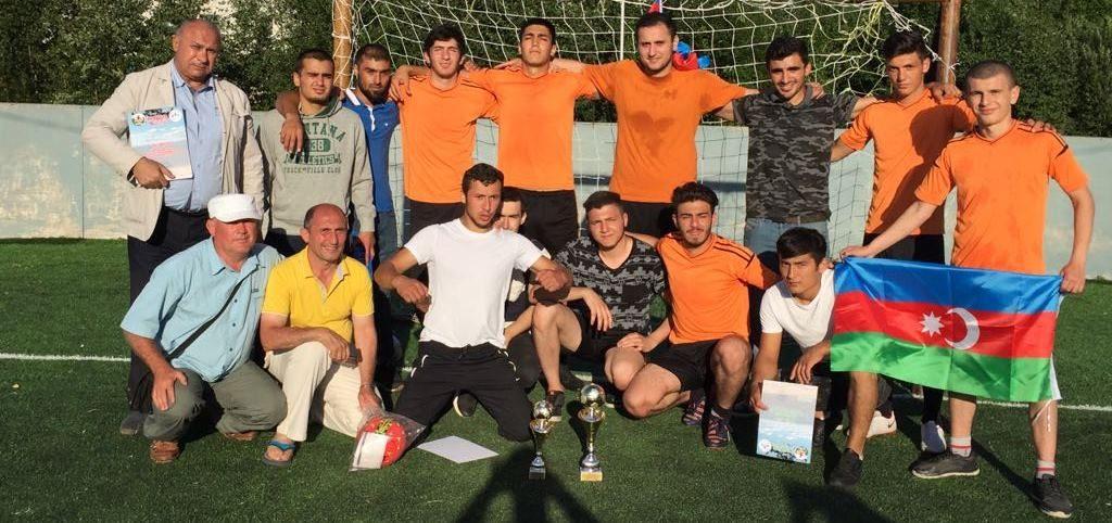 Азербайджанские футболисты стали первыми в Карелии (ФОТОЛЕНТА)