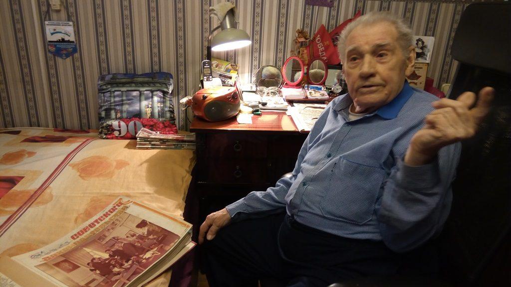 Ветеран ВОВ Владимир Минаров: «Я вспоминаю о Баку с душевной теплотой» (ФОТОЛЕНТА)