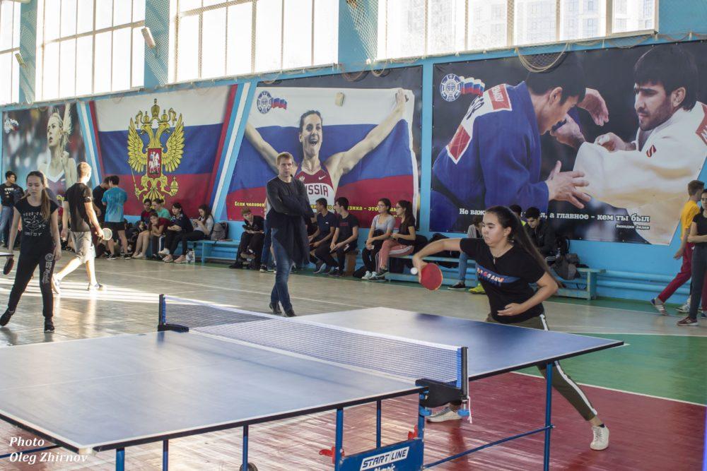 Астраханское отделение АМОР провело турнир по настольному теннису (ФОТОЛЕНТА)
