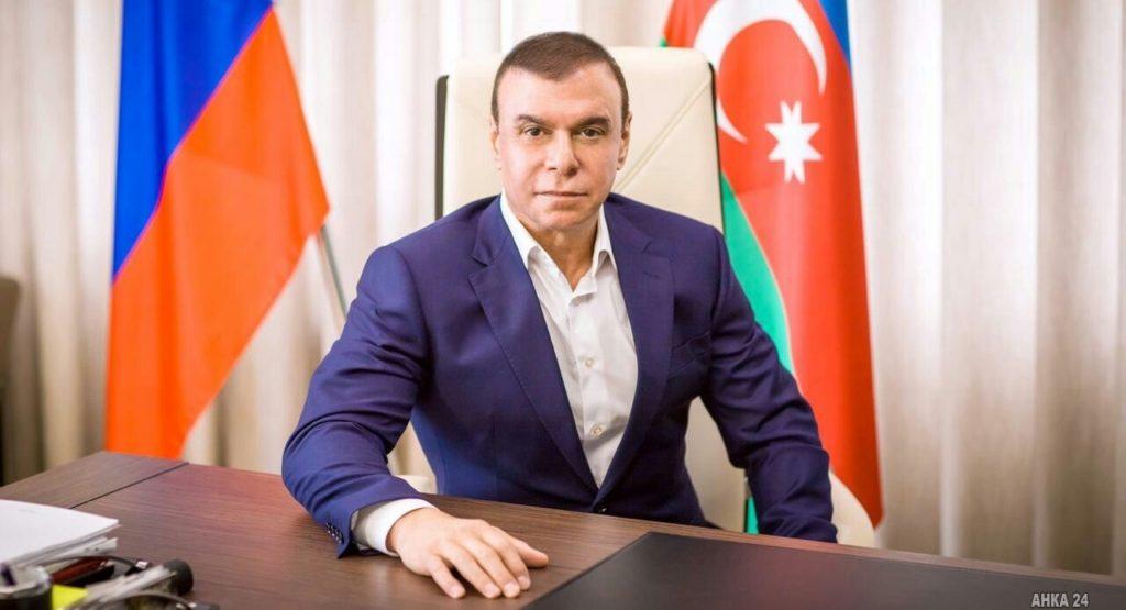 Лидер красноярских азербайджанцев Талех Махмудов награжден Почетной грамотой Президента России