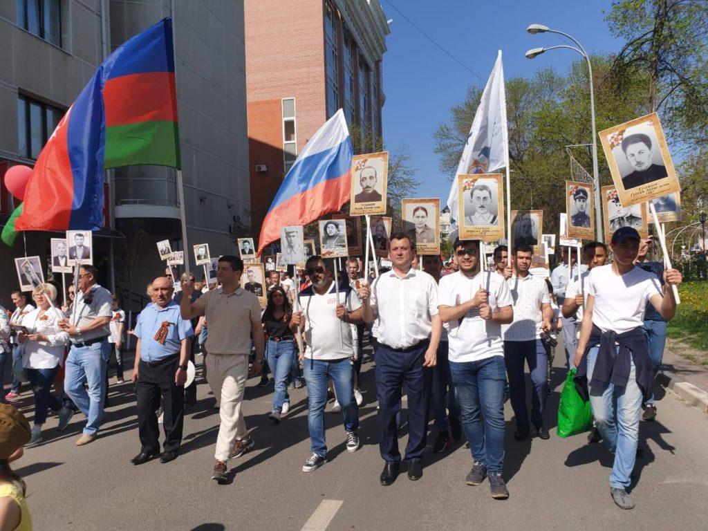 Азербайджанцы Ульяновска — на Дне Победы (ВИДЕО, ФОТОЛЕНТА)