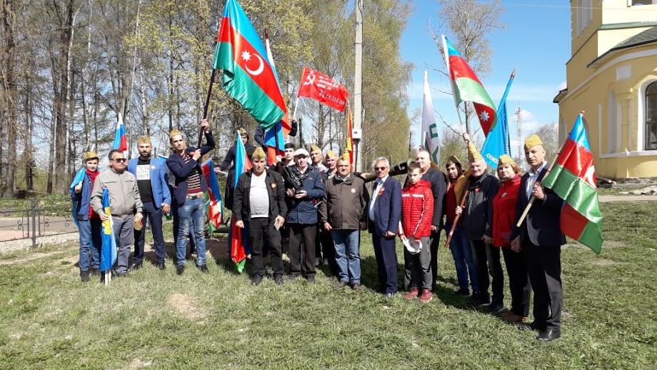 Азербайджанцы Подмосковья приняли участие в автопробеге ко Дню Победы (ВИДЕО)