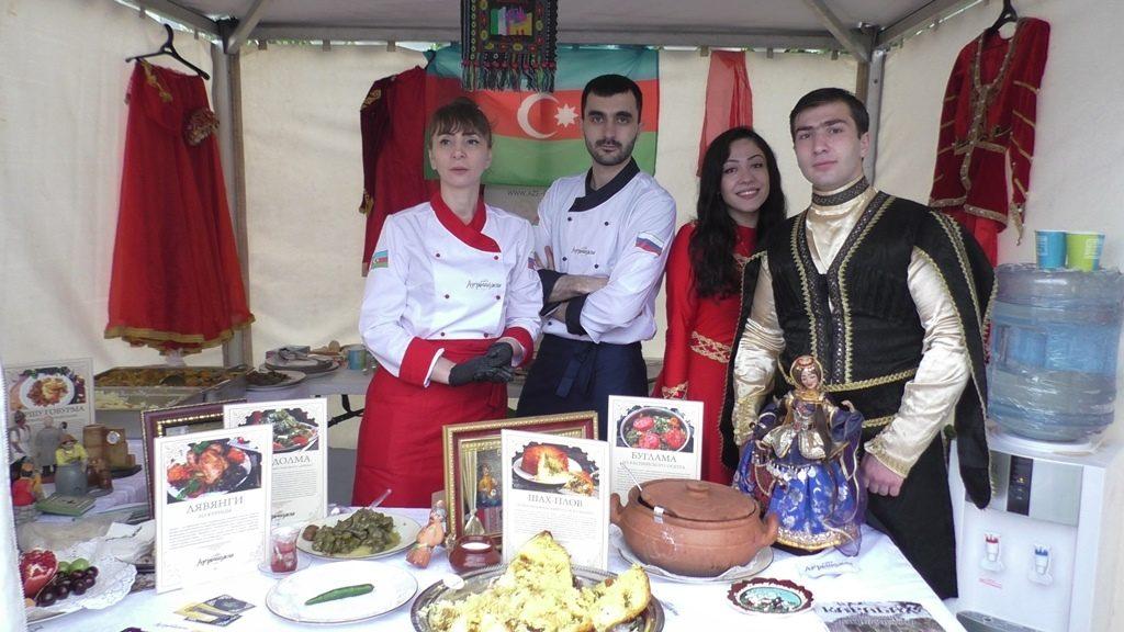 ФНКА АзерРос представила азербайджанскую кухню на гастрономическом фестивале в Москве (ВИДЕО, ФОТОЛЕНТА)