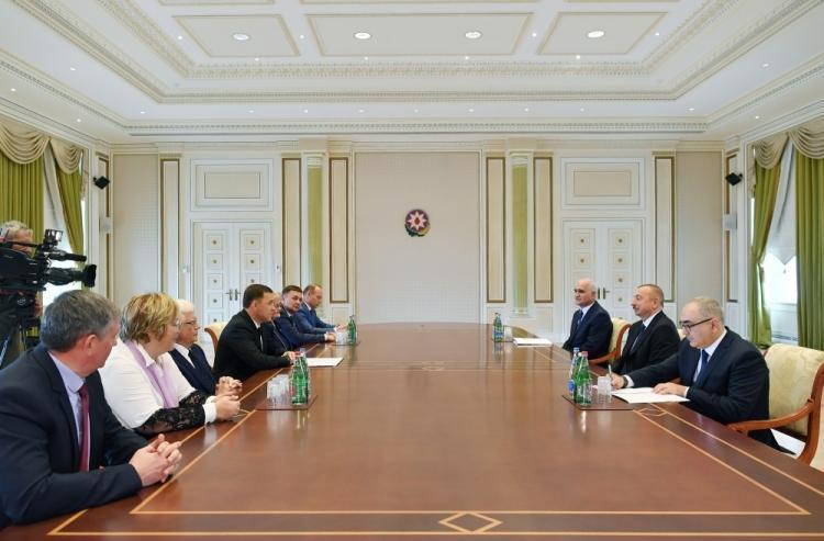 Делегация Свердловской области находится с визитом в Азербайджане (ФОТО)