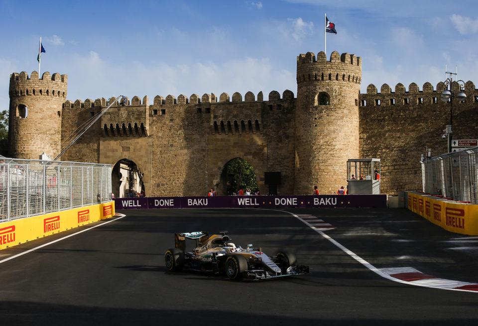 Репортаж телеканала «Россия» о Гран при Азербайджана Формулы 1