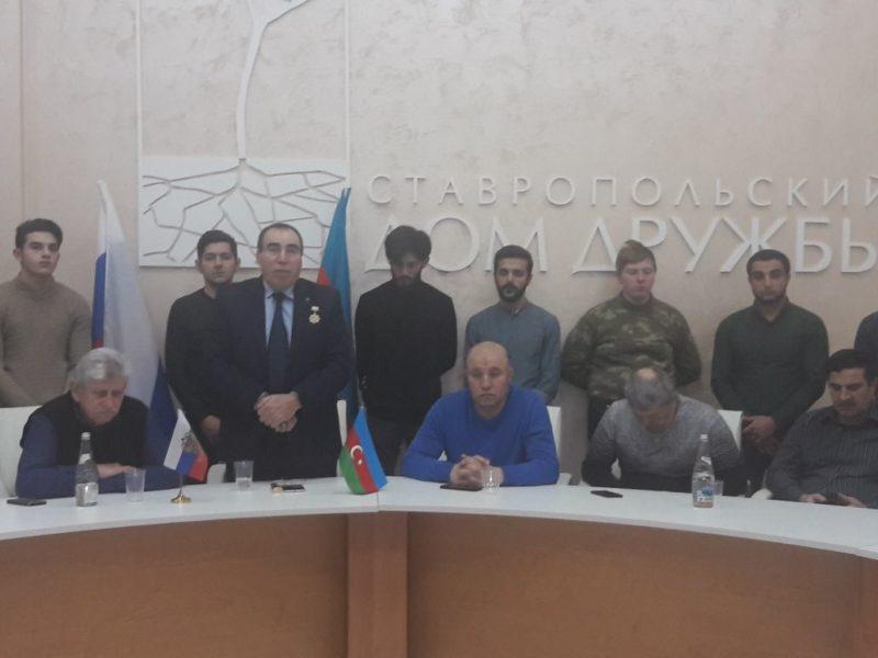 В Ставрополе азербайджанская община почтила память жертв 20 января 1990 года