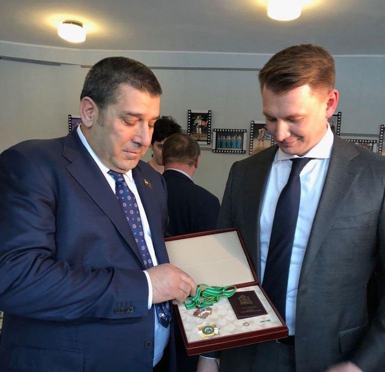 Ализаман Рагимов получил очередное признание за свою деятельность и вклад в развитие Московской области