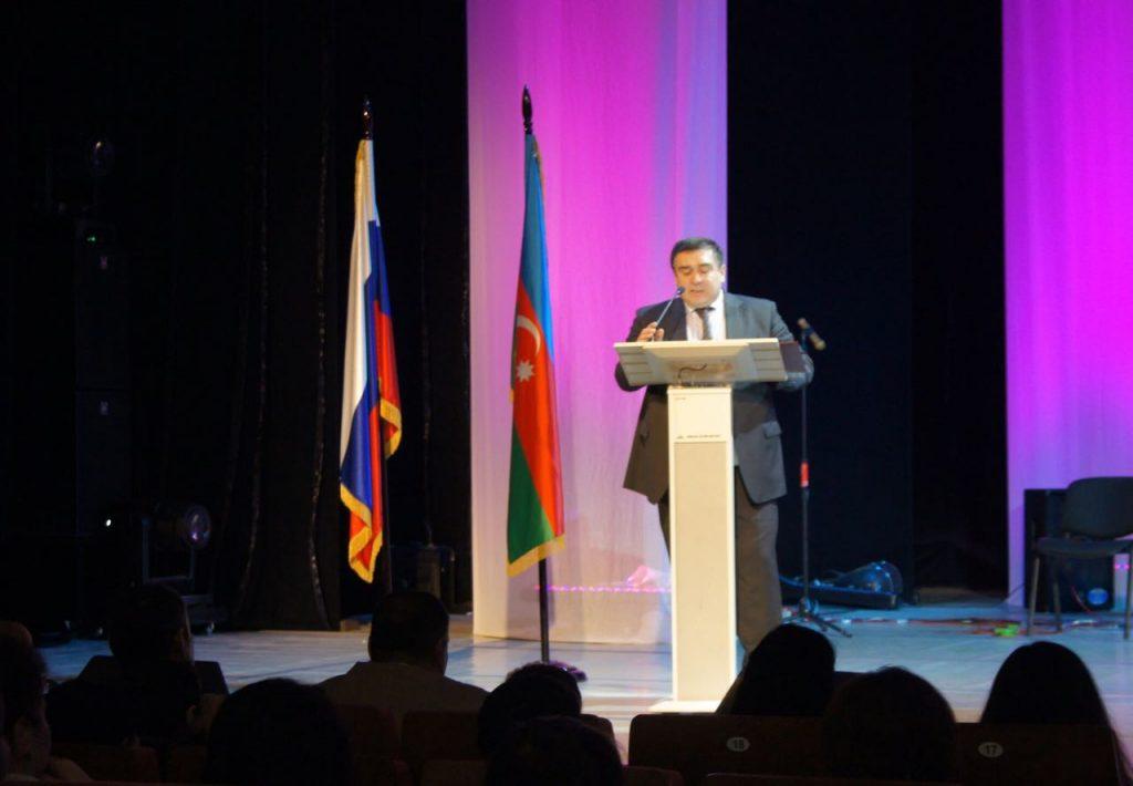 В Екатеринбурге состоялось массовое мероприятие по случаю предстоящих в России и Азербайджане выборов президента